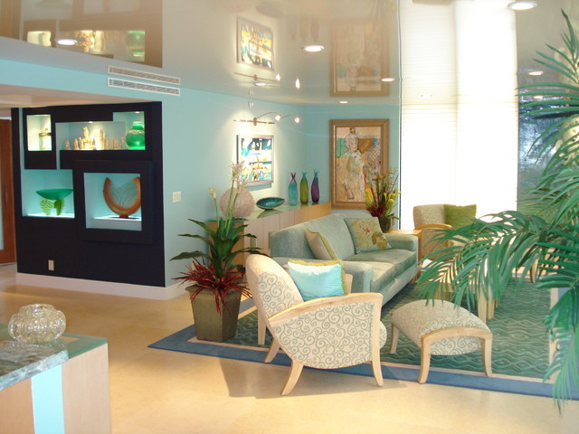 Boca Raton FL Eclectic Living Room New York By Steven Marc Wasserman