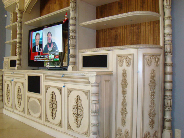 Boca Raton Traditional Living Room Miami By Woodworking Designers Inc