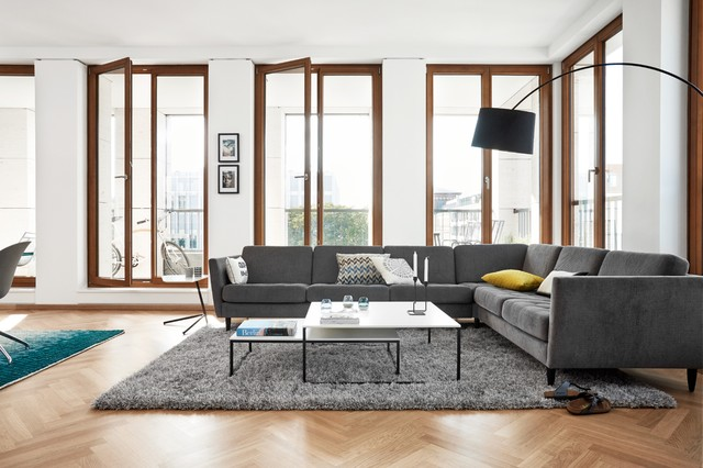Boconcept Osaka Corner Sofa Contemporary Living Room