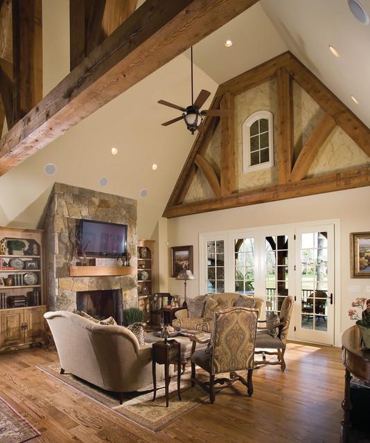 Boddington House Plan Traditional Living Room