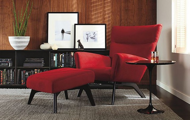 Boden Chair Ottoman Room By RB Modern Living