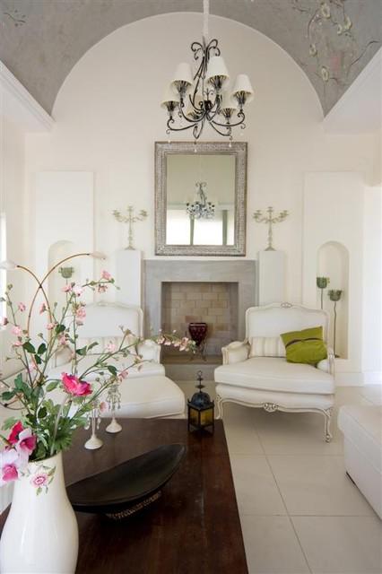 Mediterranean Living Room by gogo gulgun selcuk