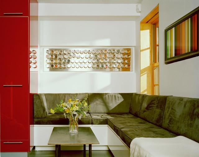 Boerum Hill House, Brooklyn modern-living-room