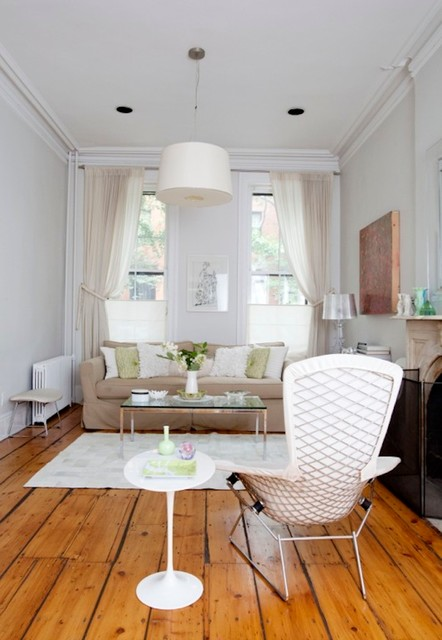 Townhouse Living Room Design: Boerum Hill Townhouse