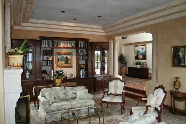 Boesenberg mediterranean-living-room