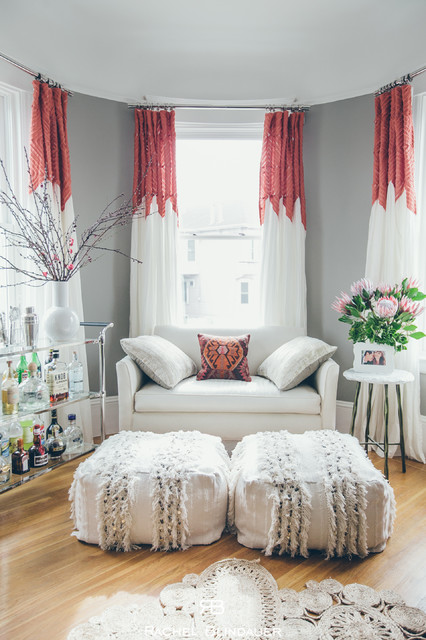 Bohemian Mod, Artistry in a Small Space - Shabby-Chic ...