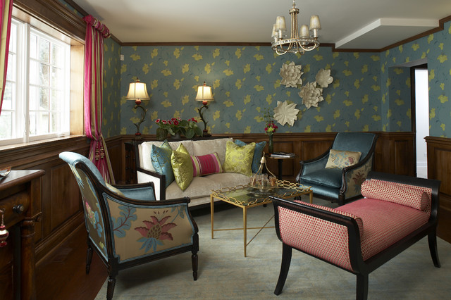Bohemian team room for Eclectic bohemian living room
