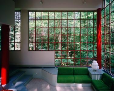 Bohlin Cywinski Jackson modern-living-room