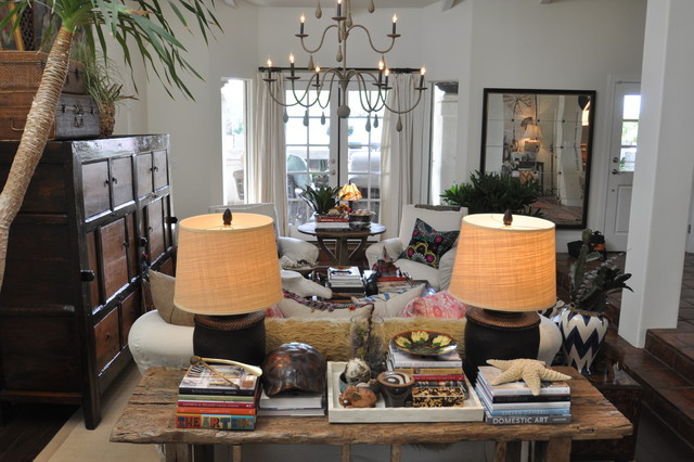 Boho chic for Eclectic chic living room