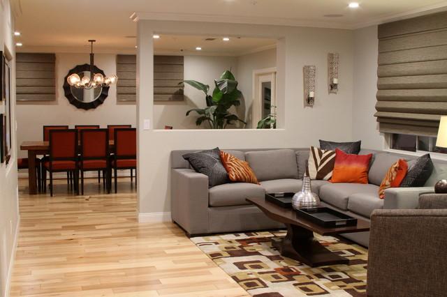 Bold contemporary encinitas contemporary living room for Bold living room ideas