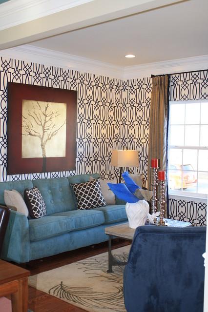 Bold Living Contemporary Living Room Atlanta By