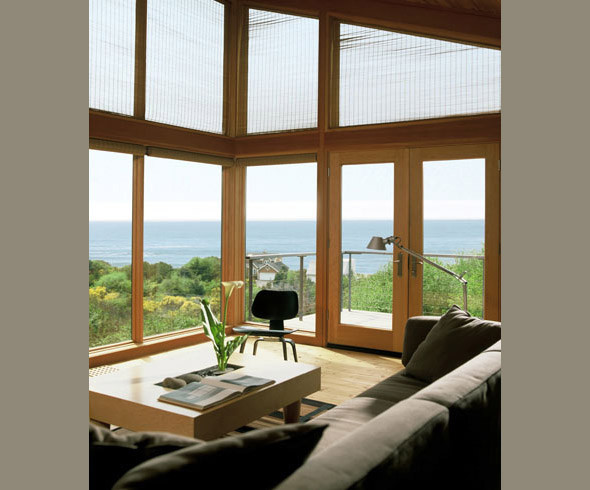 Boles/Kahle beach house modern-living-room