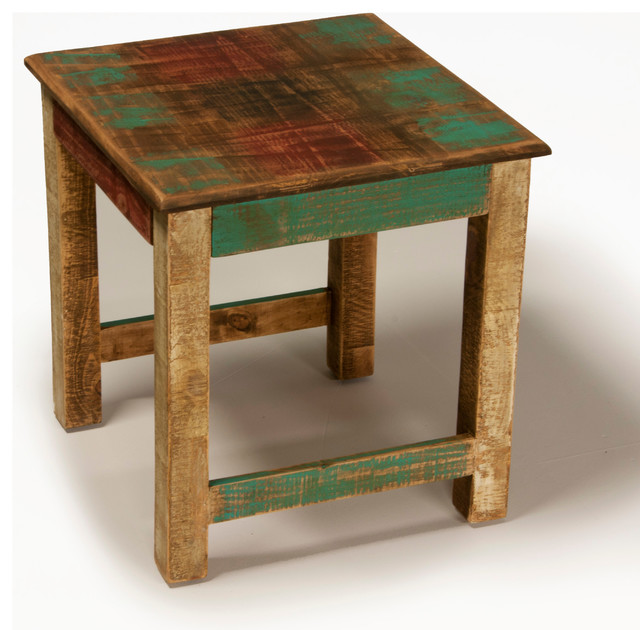 Bombay Side Table - Eclectic - Living Room - san diego - by Jerome's Furniture