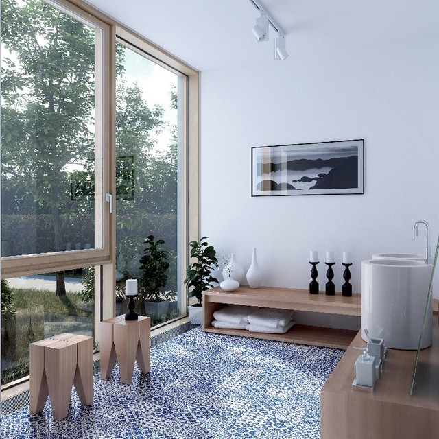 Bon Ton Tiles Eclectic Living Room Perth By Myaree