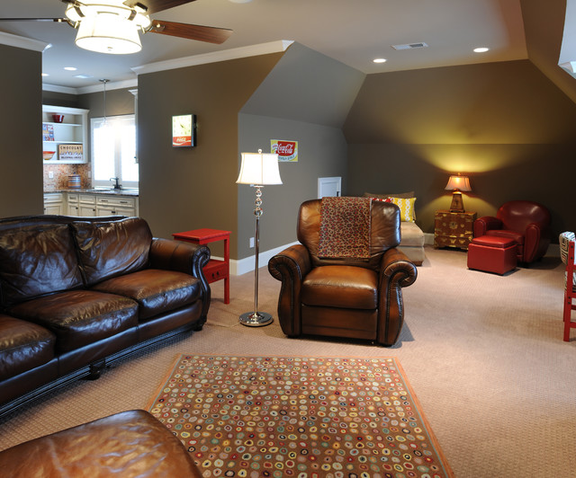 Bonus Room 2 Traditional Living Room Nashville
