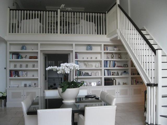 Bookcases modern-living-room