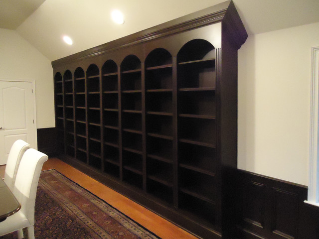 Bookcases, Libraries and Showcases contemporary-living-room