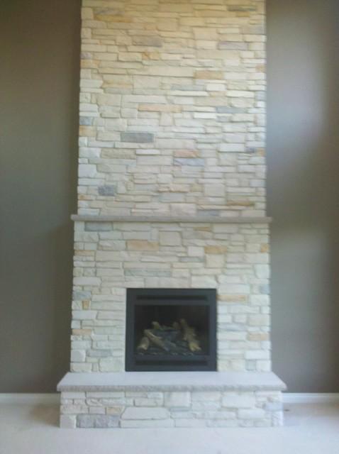 Boral Cultured Stone - Country Ledgestone - Living Room - Detroit ...