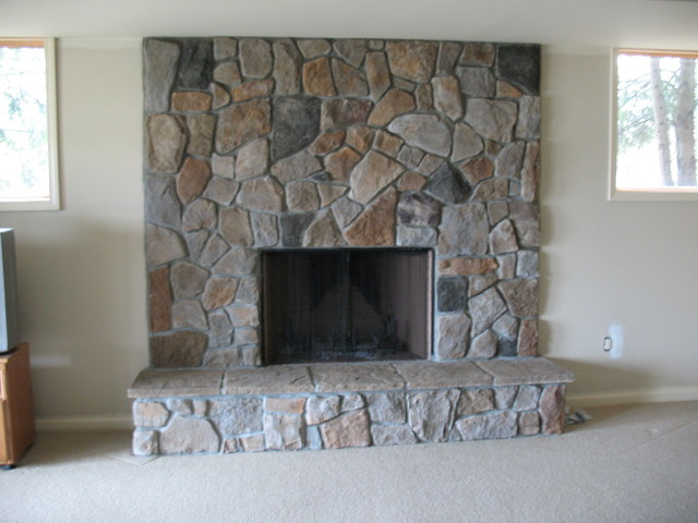 Fieldstone Fireplace Product : Boral cultured stone dressed fieldstone traditional