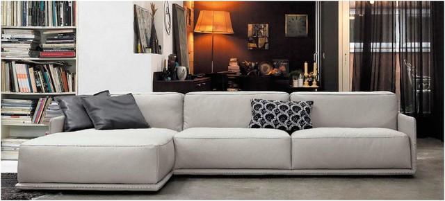 Border Sectional Sofa modern-family-room