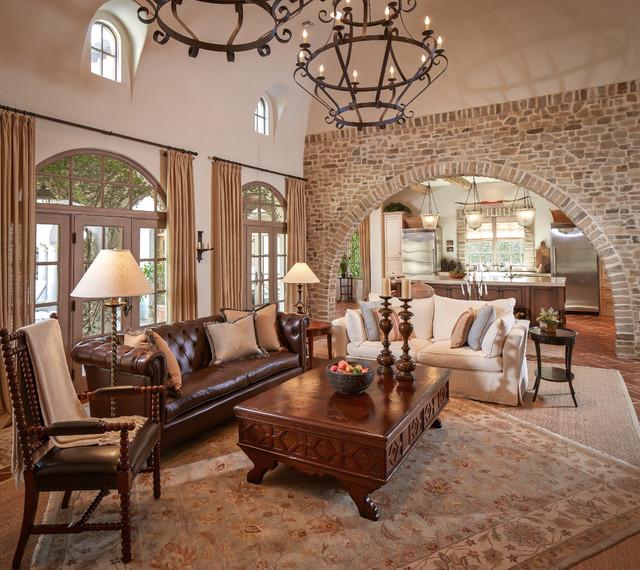Bordley Mediterranean Living Room
