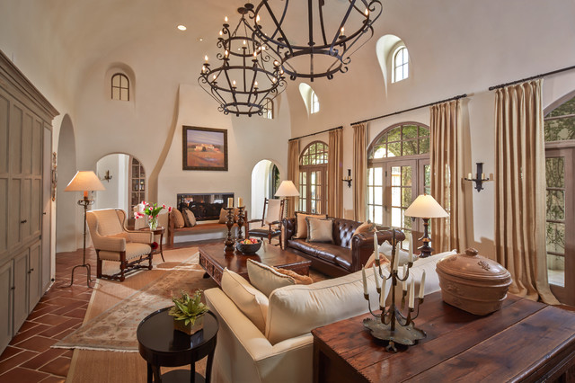 Bordley Mediterranean Living Room Houston By Thompson Custom Homes