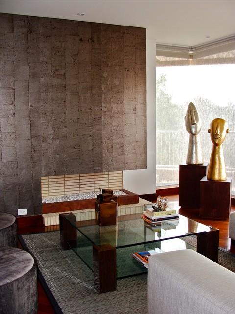 Bosque Verde modern-living-room