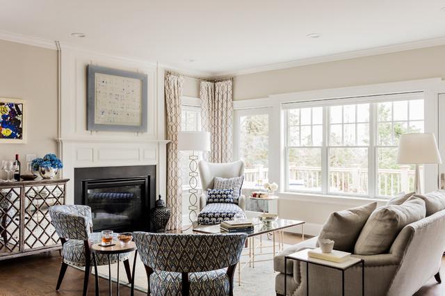 Boston Magazine Design Home 2015 Transitional Living