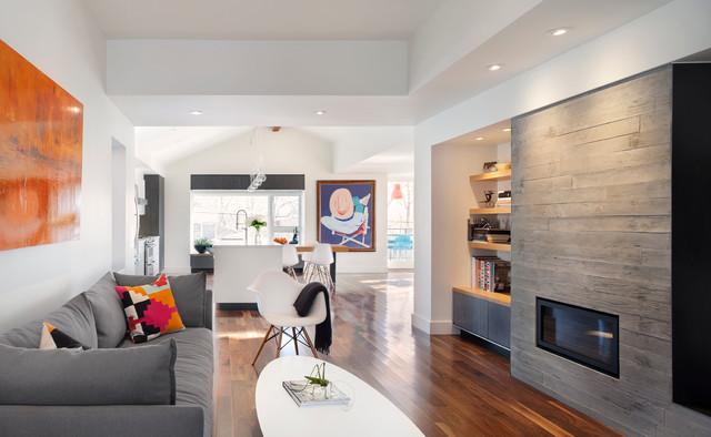 Boulder newlands remodel minimalistisch wohnbereich for Minimalistisch wohnen vorher nachher