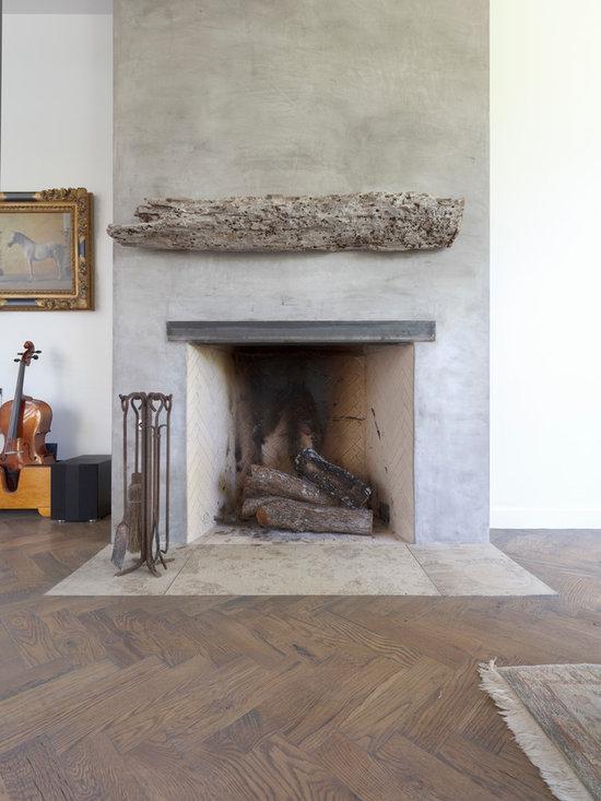 Reclaimed Wood Fireplace Mantel Home Design Ideas