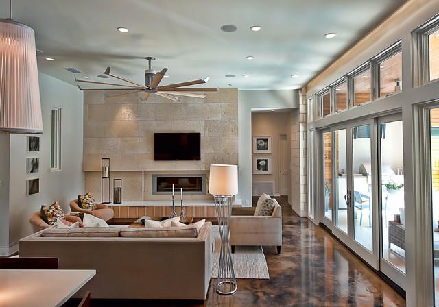Bowman contemporary living room