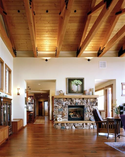 Bowman Hartke Residence traditional-living-room