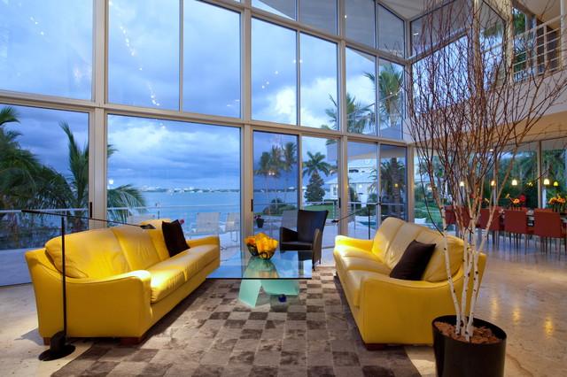 Sarasota Florida Homes Contemporary Living Room Other Metro By SRQ360