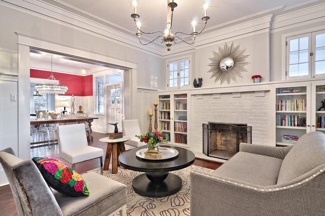 Brady House craftsman-living-room