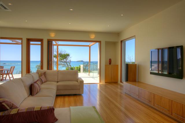 Brahminy House contemporary-living-room
