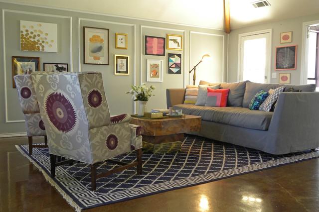 Brandi Powers eclectic-living-room