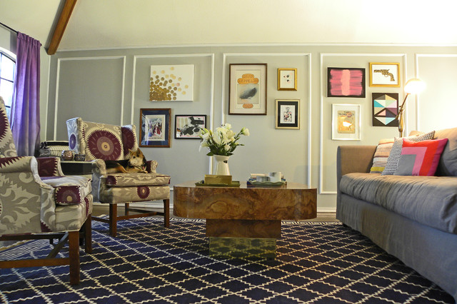 Brandi Powers eclectic living room