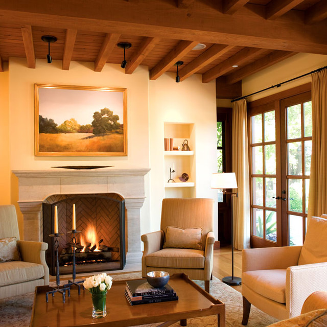 Mediterranean Style Living Room: BraytonHughes Design Studios Mediterranean-living-room