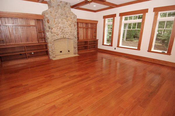 Brazilian cherry flooring prefinished 3 4 x 5 clear for Brazilian cherry flooring