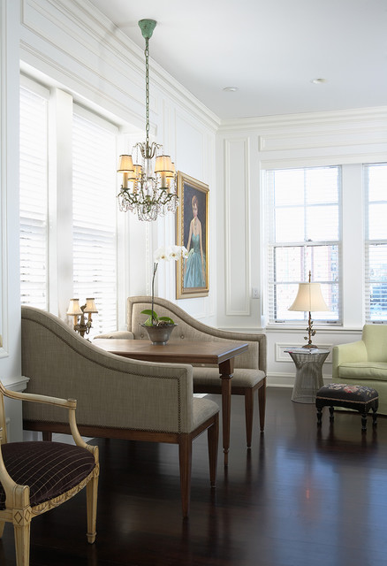 Breakfast Nook - Traditional - Living Room - New York - by ...