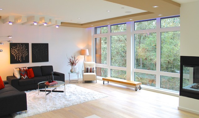 Breathtaking Contemporary Kirkland House Contemporary Living Room Other By Seattle
