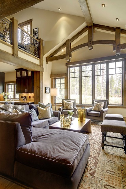 Breckenridge Residence contemporary-living-room