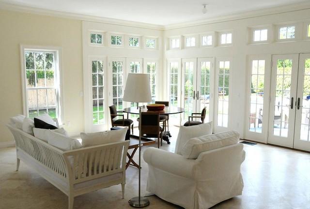 Breeze Lane, Southampton traditional-living-room