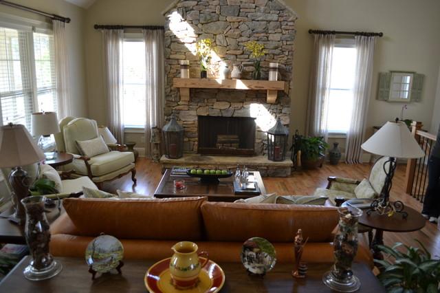 Breezy Living traditional-living-room