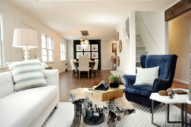 Brehm Contemporary Living Room New York By The Cousins