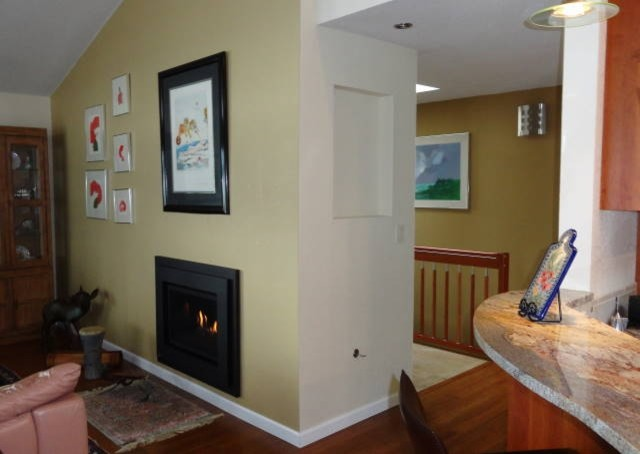 Bremerton's Chico Way Kitchen & Fireplace Remodel contemporary-living-room