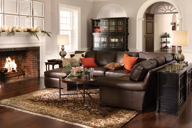 Brentwood Collection traditional-living-room