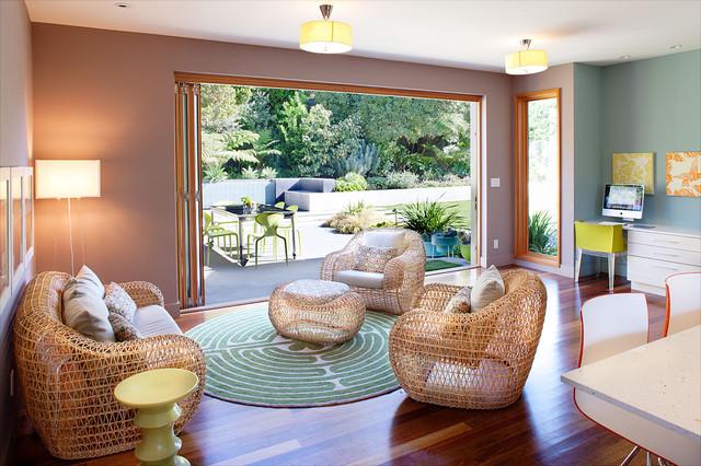 Brettkelly Residence, Oakland, CA contemporary-living-room
