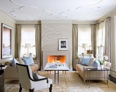 Brian Gluckstein Design transitional-living-room