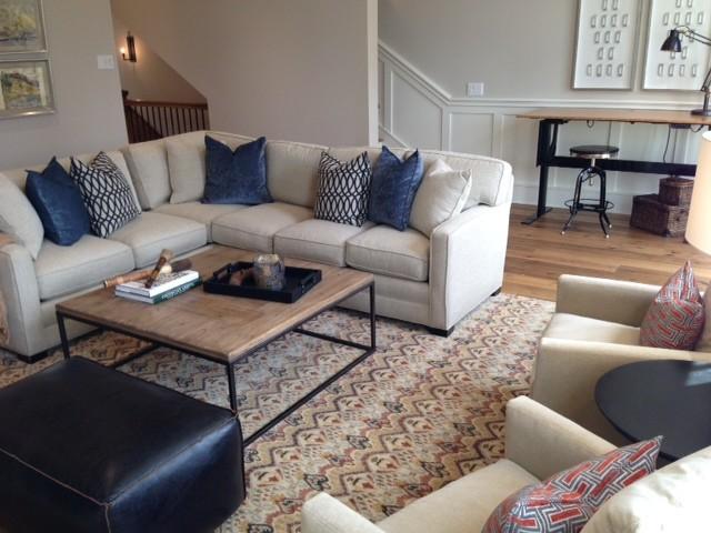 Bricktown Condo Traditional Living Room Oklahoma